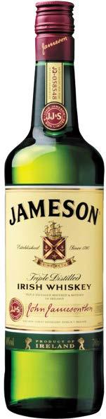 JAMESON IRISH TRIPLE DISTILLED