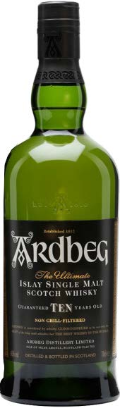 ARDBEG TEN ISLAY SINGLE MALT
