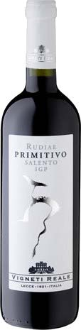 Primitivo Salento IGP Rudiae Vigneti Reale