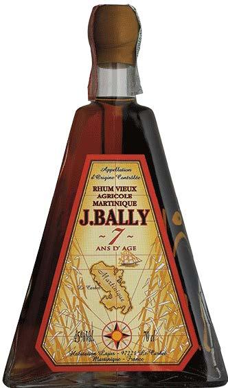 J. BALLY VIEUX AGRICOLE PYRAMIDE 7 ANNI