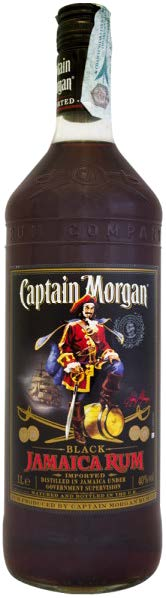 CAPTAIN MORGAN BLACK JAMAICA