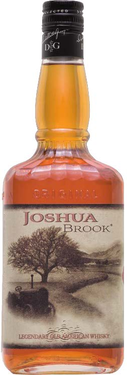 Bourbon Whiskey 3 Years Old Joshua Brook