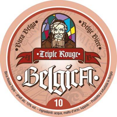 BELGICA TRIPLE ROUGE