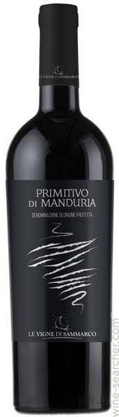 Primitivo di Manduria DOP Le Vigne di Sammarco