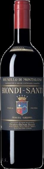 """Brunello di Montalcino DOCG """"Il Greppo""""  Biondi Santi"""