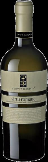 """Bianco Lazio """"Virtù Romane"""" Tenuta Le Quinte"""