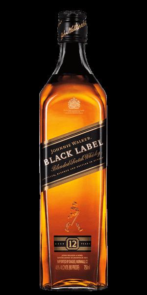 J. WALKER BLACK LABEL 12 YEARS